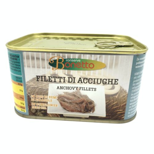 filety anchois