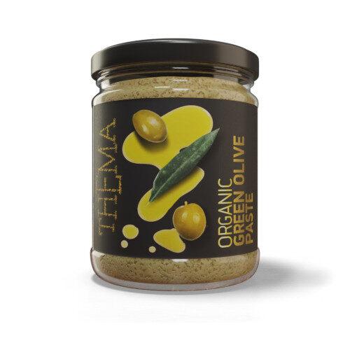 Pasta BIO z zielonych oliwek
