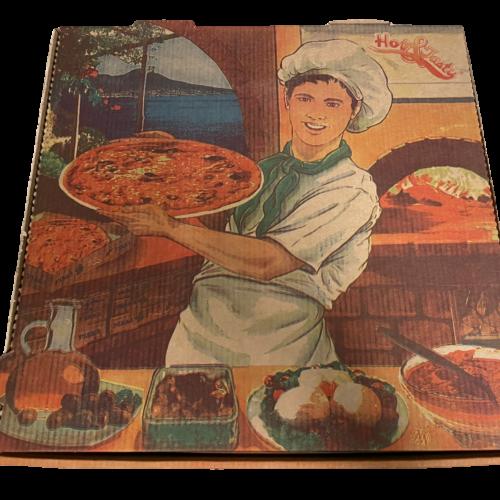 karton na pizzę